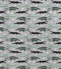 Snuggle Flannel Fabric-Alligators