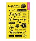 Waffle Flower Crafts Clear Stamps-In Every Way