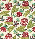 Lightweight Decor Robert Allen- Brigh Floral - Fuchsia
