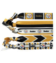 Pittsburgh Steelers Knotted Hair Tie, , hi-res
