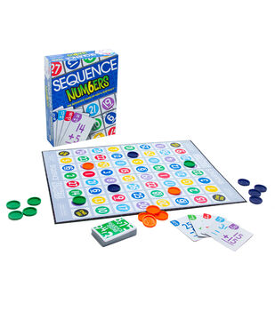 Sequence Numbers Board Game