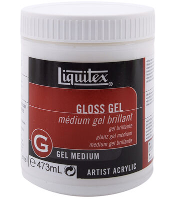 Liquitex Gloss Gel Medium-16oz