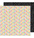 Amy Tan Shine On Double-Sided Cardstock 12\u0022X12\u0022-Three Sides
