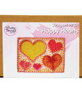 Pretty Twisted String Art DIY Kit-Happy Hearts