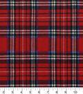 Snuggle Flannel Fabric -Stewart Plaid