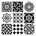 Crafter\u0027s Workshop Templates Moroccan Tiles