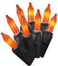 Maker\u0027s Halloween 50 ct Orange String Lights