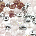 Beadsmith SuperDuo Seed Beads-Barely Pink