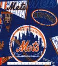 New York Mets Fleece Fabric 58\u0022-Vintage