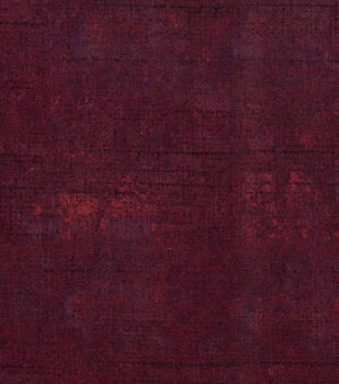 Keepsake Calico Cotton Fabric 43''-Dark Red Tonal Blender