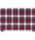 Snuggle Flannel Fabric -Traditional Tartan Plaid