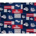 Gonzaga University Bulldogs Fleece Fabric-College Patch