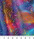 Legacy Studio Batik Fabric -Rainbow Dots