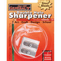 General Pencil Double Hole Metal Sharpener