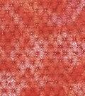 Keepsake Calico Cotton Fabric -Red Orange Tiedye Blender