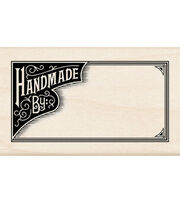 Inkadinkado Rubber Stamp-Handmade By, , hi-res