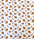 LA Lakers Cotton Fabric-Logo