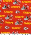 Kansas City Chiefs Cotton Fabric 58\u0027\u0027-Mascot Logo