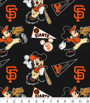 San Francisco Giants Cotton Fabric-Mickey, , hi-res