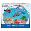 Jumbo Ocean Animals, 6/pkg