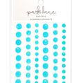 Park Lane Paperie 56 pk Bling Embellishments-Neon Blue