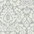 Waverly Upholstery Fabric 54\u0027\u0027-Silver Dashing Damask