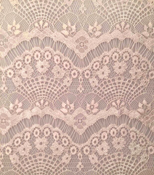 Casa Collection Eyelash Lace Fabric-Rosewater
