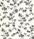 Orli Black Vine Wallpaper Sample