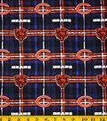 Chicago Bears Flannel Fabric -Plaid