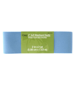 Dritz 2'' Soft Waistband Elastic-Blue