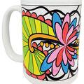 Pretty Twisted Color Your Mug DIY Kit-Swirl & Twirl