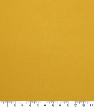 Faux Suede Stretch Fabric-Mineral Yellow