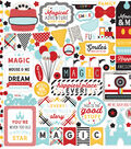 Magic & Wonder Cardstock Stickers 12\u0022X12\u0022-Elements