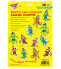 Sock Monkeys Patterns Classic Accents Variety Pack, 36 Per Pack, 6 Packs