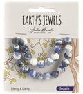 Earth\u0027s Jewels Semi-Precious Round 8mm Beads-Sodalite