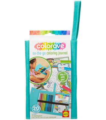 Colorave On-The-Go Coloring Journal