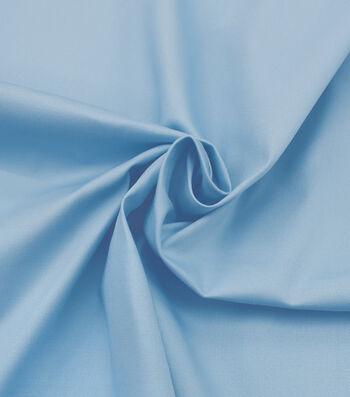 Sportswear Stretch Twill Fabric 57''-Blue Solid