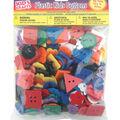 Darice Plastic Kids Buttons-1/2lb