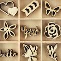 Themed Mini Wooden Flourishes-Bloom