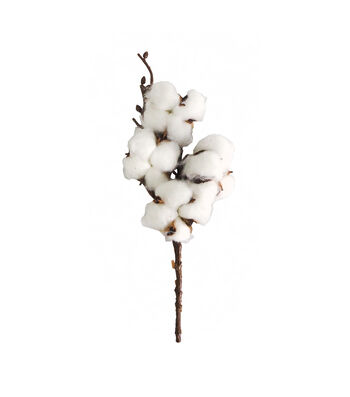 Blooming Holiday Christmas 7'' Farm Cotton Pick