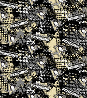 Pittsburgh Penguins Cotton Fabric -All Over, , hi-res