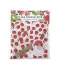 Hampton Art Jar Topper Kit-Apples