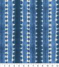 Waverly Sun N Shade Fabric-Java Journey Indigo