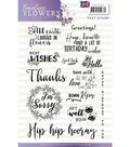 Find It Precious Marieke Timeless Flowers Clear Stamps-Greetings