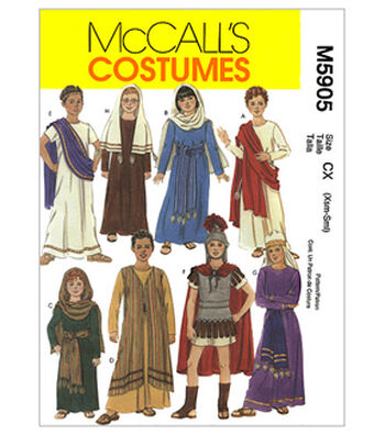 McCall's Pattern M5905 Children's Biblical Costumes