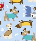 Anti-Pill Fleece Fabric 59\u0022-Cozy Puppies