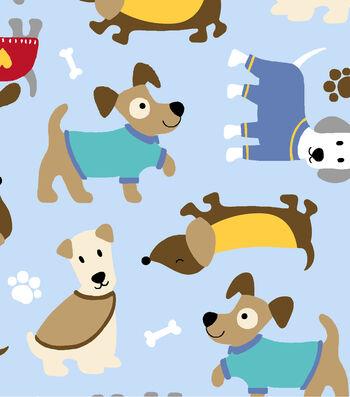 """Anti-Pill Fleece Fabric 59""""-Cozy Puppies"""