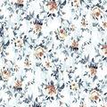 Premium Cotton Fabric-Yellow Roses on White