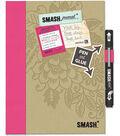 SMASH Folio 10.25\u0022X7.75\u0022-Pretty Pink