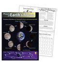 Phases of Earth\u0027s Moon Learning Chart 17\u0022x22\u0022 6pk